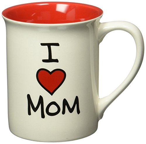 0045544454162 - ENESCO 4026593 OUR NAME IS MUD BY LORRIE VEASEY I HEART MOM 16-OUNCE MUG, 4-1/2-INCH