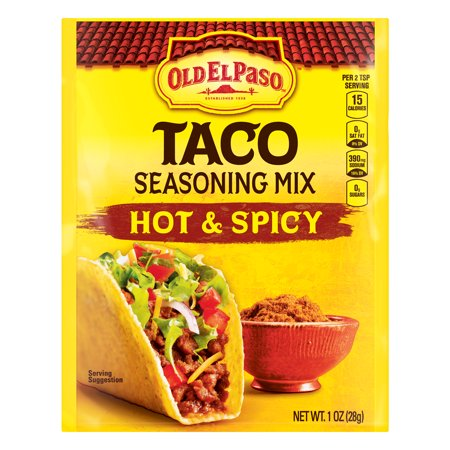 0046000288758 - TACO SEASONING MIX HOT & SPICY