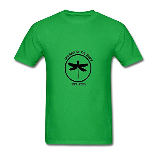 4635850138915 - MEN'S COHEED AND CAMBRIA BAND LOGO T SHIRTS SHORT FOREST GREEN XXL