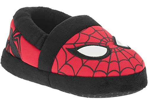 4713698697259 - MARVEL AVENGERS SPIDER-MAN KIDS A-LINE SLIPPERS SIZES 7-13 (LARGE/9-10 M US TODDLER)