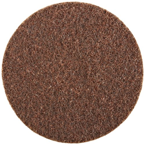 0048011039275 - SCOTCH-BRITE(TM) SURFACE CONDITIONING DISC, HOOK AND LOOP ATTACHMENT, ALUMINUM OXIDE, 6 DIAMETER, A COARSE GRIT (PACK OF 50)