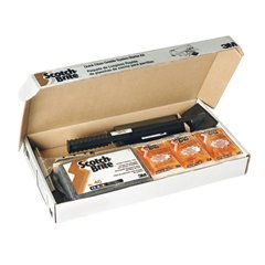 0048011264141 - 3M GRILL, GRIDDLE AND FRYER CLEANERS SCOTCH-BRITE QUICK CLEAN GRIDDLE SYSTEM STARTER KIT