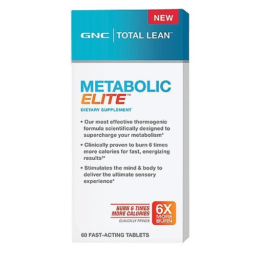 0048107132613 - GNC TOTAL LEAN METABOLIC ELITE , 60 FAST-ACTING TABLETS
