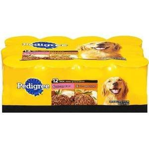 4895106200791 - PEDIGREE DOG FOOD CANNED VARIETY PACK CHICKEN AND BEEF 13.2 OZ CANS 12 PACK