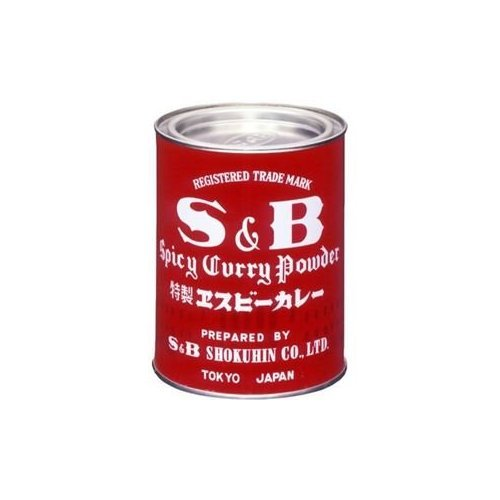 4901002019709 - S & AMP; B COMMERCIAL CURRY POWDER 400G