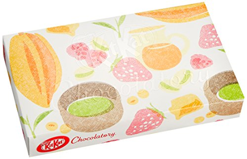 4902201167543 - KIT KAT CHOCOLATORY SPECIAL GIFT BOX IN 8 PIECES (JAPAN IMPORT)