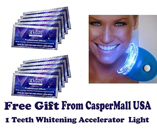 4902430614085 - CREST 3D WHITE LUXE WHITESTRIPS PROFESSIONAL EFFECTS TEETH WHITENING - 20 STRIPS 10 POUCHES