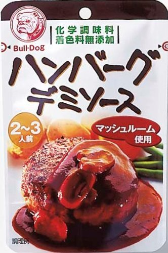 4902551352460 - 100GX5 ONE BULLDOG COOKING SOURCE HAMBURGER DEMI SOURCE
