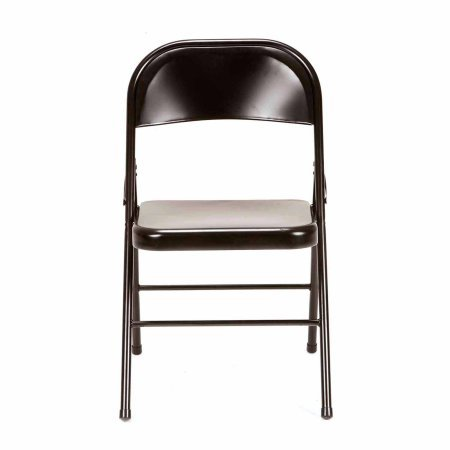 4913553150787 - MAINSTAYS STEEL CHAIR, SET OF 4, MULTIPLE COLORS