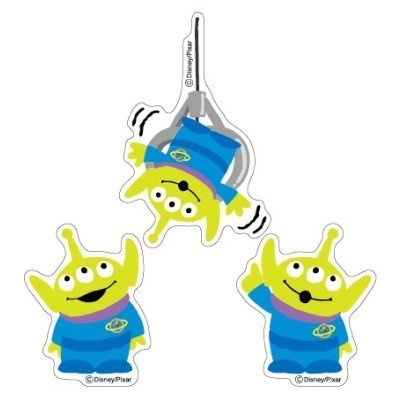 4951850234809 - WALL STICKERS PETAMO COLOR TOY STORY ( ALIEN VERTICAL)