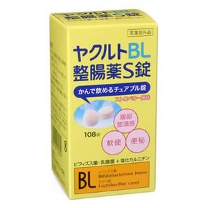 4987424170624 - JAPAN HEALTH AND BEAUTY - YAKULT BL INTESTINAL REMEDY S TABLETS 108 TABLETS *AF27*