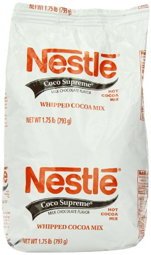 0050000121922 - NESTLE HOT COCOA MIX, COCO SUPREME, 1.75-POUND PACKAGES (PACK OF 3)