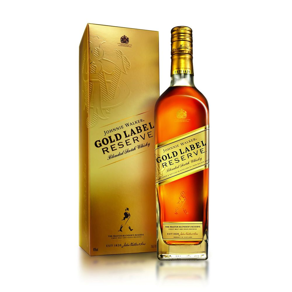 5000267107776 - WHISKY ESCOCÊS BLENDED GOLD JOHNNIE WALKER GARRAFA 750ML