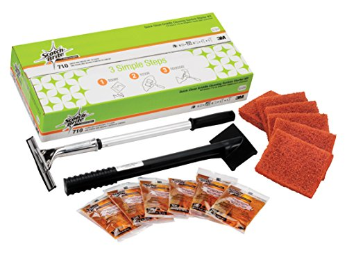 5004801126414 - SCOTCH-BRITE QUICK CLEAN GRIDDLE CLEANING SYSTEM STARTER KIT 710