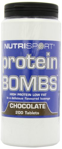 5028385722800 - NUTRISPORT PROTEIN BOMBS - 200 TABS - CHOCOLATE