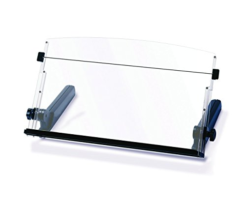 5052461627789 - 3M ADJUSTABLE IN-LINE PAPER DOCUMENT COPY HOLDER WITH ELASTIC LINE GUIDE, 18-INCH WIDE, 300 SHEET CAPACITY, WEIGHTED BASE (DH640)