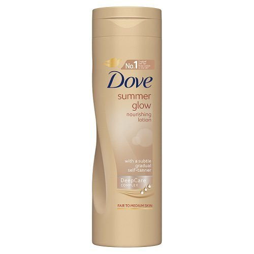 5055586694353 - DOVE SUMMER GLOW NOURISHING LOTION FOR FAIR TO NORMAL SKIN 250ML