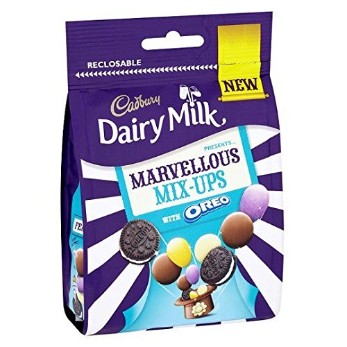 5055835164347 - CADBURY MARVELLS MIX UPS OREO BAG 111G