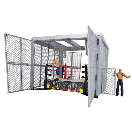 5055851235199 - WWE HELL IN A CELL RING