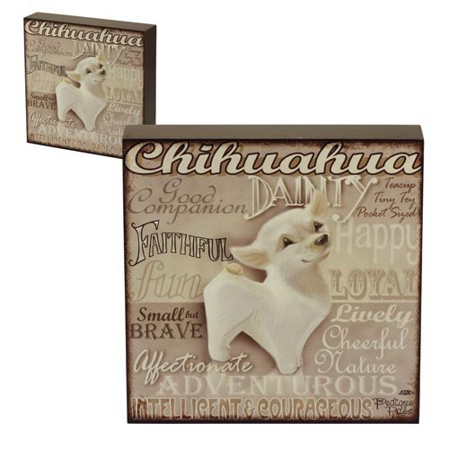 5060083428844 - WALL ART - MY PEDIGREE PALS DOGS PICTURES (CHIHUAHUA)