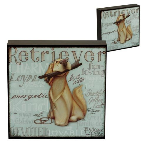 5060083428899 - WALL ART - MY PEDIGREE PALS DOGS PICTURES (GOLDEN RETRIEVER) BY PEDIGREE PALS