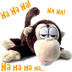 5060113894120 - LAUGHING MONKEY CHUCKLE BUDDIES - CHEEKY THE CHIMP