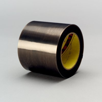 0051138950224 - 3M 5491 GRAY SLICK SURFACE TAPE - 50 MM WIDTH X 6.7 MIL THICK - 95022