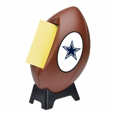 0051141393377 - 3M FB-330-DAL POST-IT POP UP NOTES NFL FOOTBALL DISPENSER- DALLAS COWBOYS