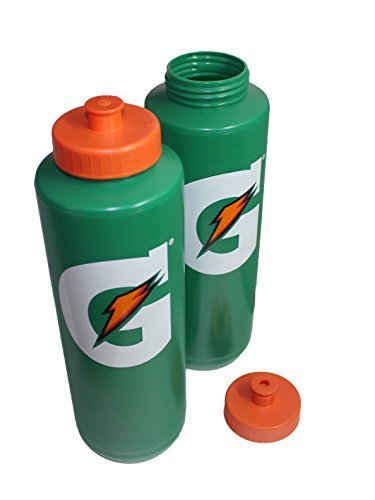 0052000131086 - 32OZ GATORADE SPORTS WATER BOTTLE - PACK OF 2 (ORIGINAL STYLE)