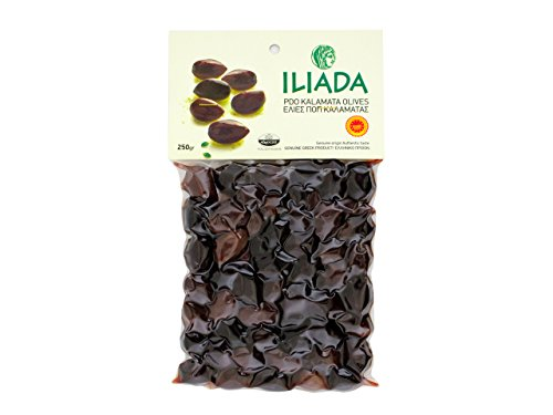 5201043114944 - ILIADA PDO KALAMATA OLIVES, 10 COUNT (PACK OF 10)