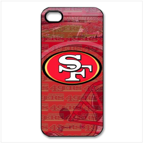 0520970078590 - EBAYKEY CUSTOMBOX NFL SAN FRANCISCO 49ERS TEAM LOGO BEST DURABLE SILICONE CASE COVER FOR IPHONE 5 5S