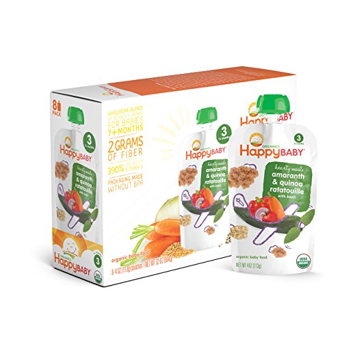 0052697001464 - ORGANIC BABY FOOD STAGE 3 AMARANTH RATATOUILLE POUCH