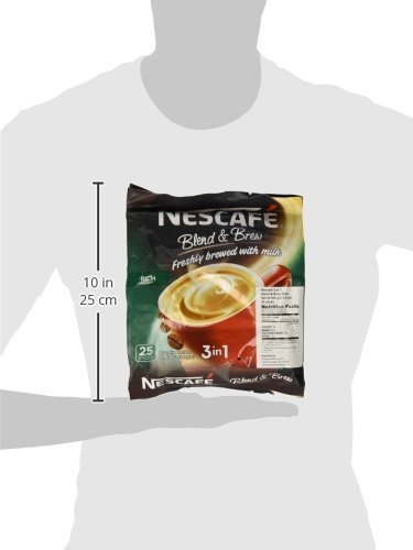 0053176481968 - 2 PACK - NESCAFÉ 3 IN 1 RICH INSTANT COFFEE (50 STICKS TOTAL) ★ MADE FROM PREMIUM QUALITY BEANS ★ OFFERS A RELAXING FLAVOR BUT WITH STRONG, SOLID ESSENCE AND AROMA ★ HAS A RICHER TASTE THAN NESCAFÉ 3 IN 1 ORIGINAL ★ SERVE HOT OR COLD ★ FROM NESTLÉ MALAYS