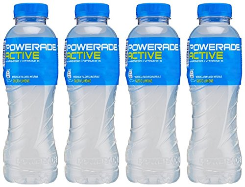 5449000130853 - POWERADE ACTIVE SOFT DRINK WITH MAGNESIUM AND VITAMIN B, LEMON TASTE * 1.05 PINT (500ML) BOTTLES (PACK OF 4) *