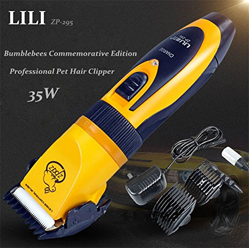 0056476883548 - PROFESSIONAL PET HAIR TRIMMER ANIMALS GROOMING CLIPPERS DOG HAIR CUTTERS HIGH QUALITY 35W ELECTRIC SCISSORS