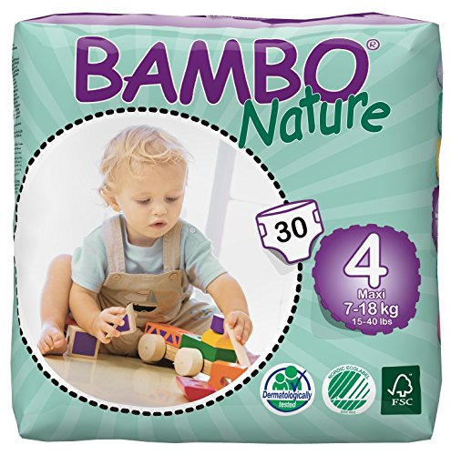 5703538109423 - BAMBO NATURE PREMIUM BABY DIAPERS, MAXI, 30 COUNT, SIZE 4