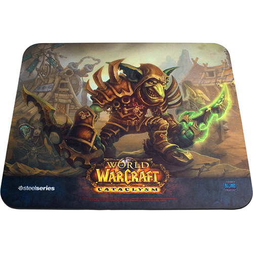 5707119010979 - MOUSEPAD QCK WORLD WARCRAFT CATACLYSM - GOBLIN EDITION - STEELSERIES