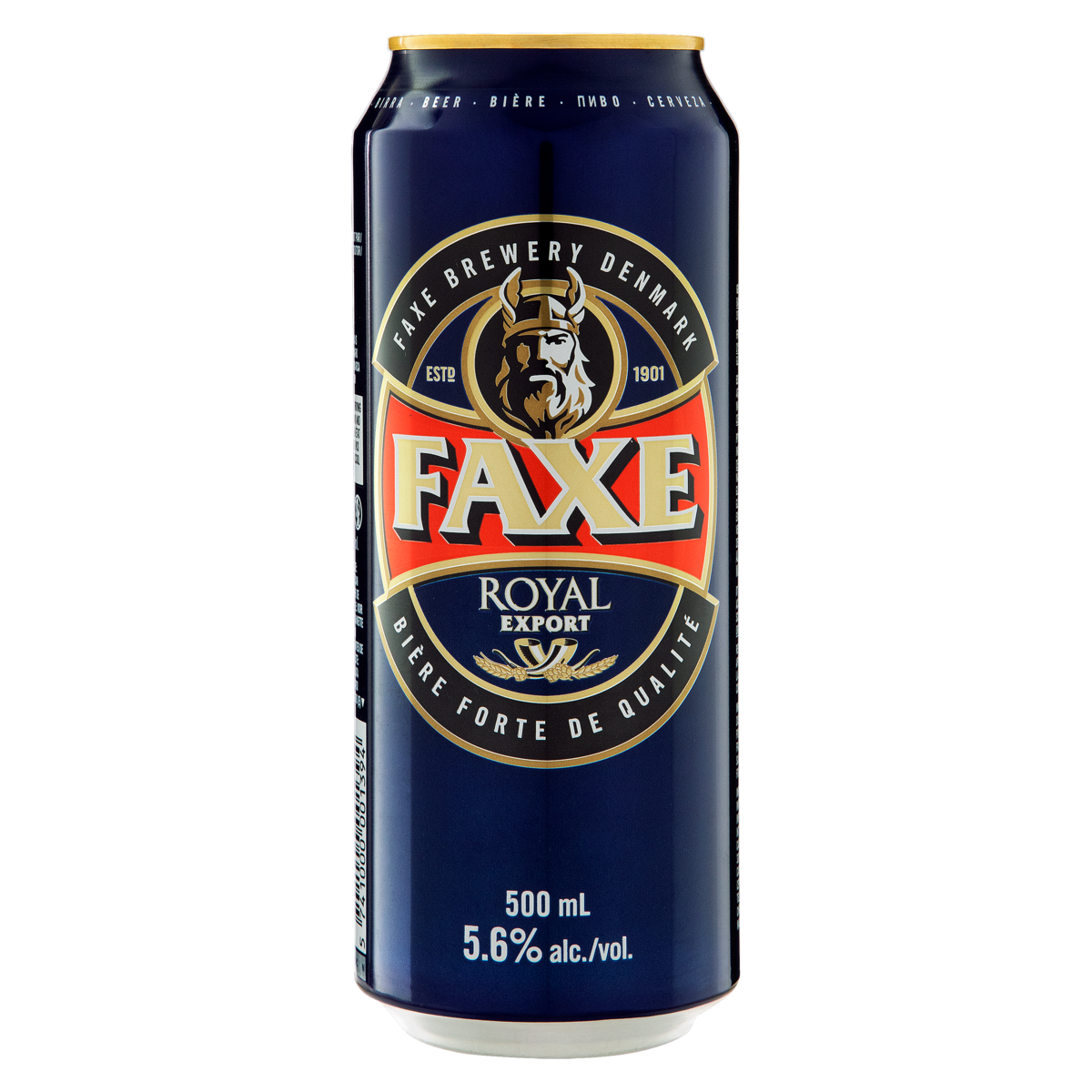 5741000001394 - CERVEJA AMERICAN LAGER ROYAL EXPORT FAXE LATA 500ML