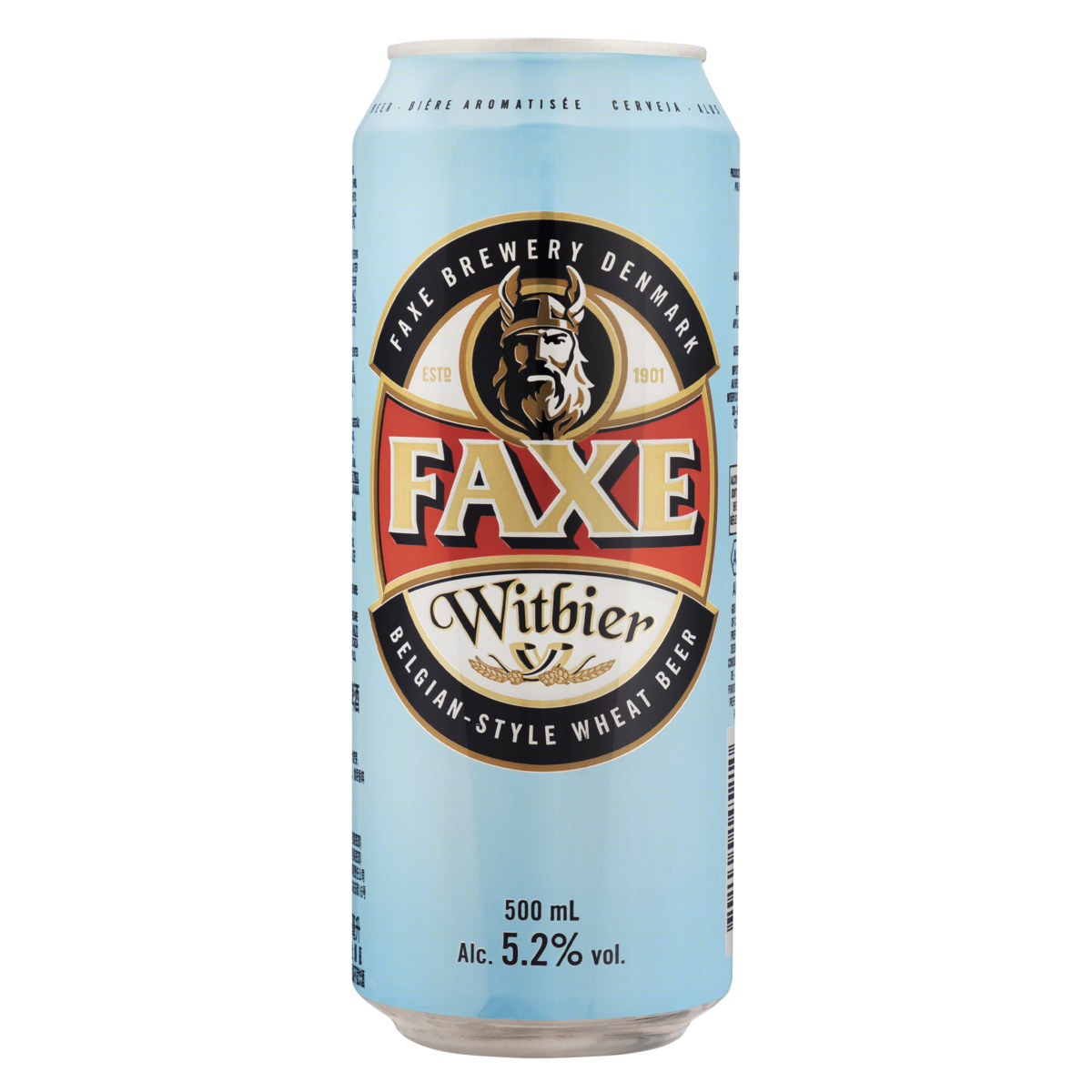 5741000145210 - CERVEJA WITBIER FAXE LATA 500ML
