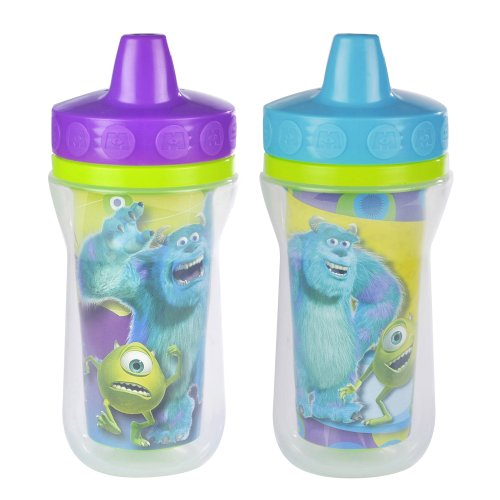5845215976482 - DISNEY/PIXAR MONSTERS INC. INSULATED SIPPY CUP - 9 OZ, 2 PACK