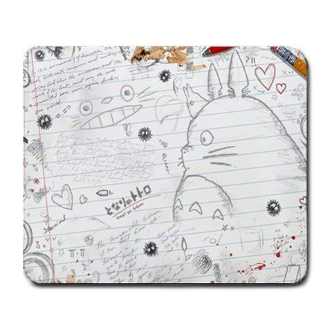 0601768352495 - TOTORO MY NEIGHBOR TOTORO ANIMATED FILM ANIME FUNNY & CUTE RECTANGLE MOUSE PAD JOIE 92