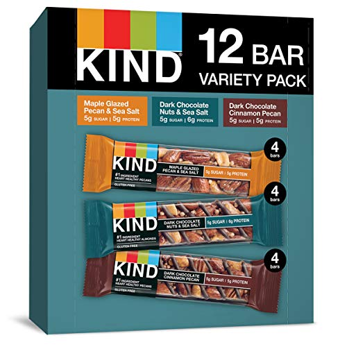 0602652177156 - KIND NUTS & SPICES BARS VARIETY PACK, 1.4 OUNCE, 12 COUNT