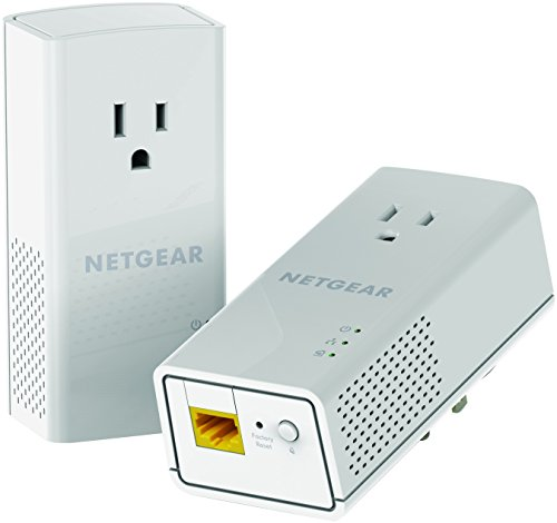0606449106749 - NETGEAR POWERLINE 1200 AND EXTRA OUTLET (PLP1200-100PAS)