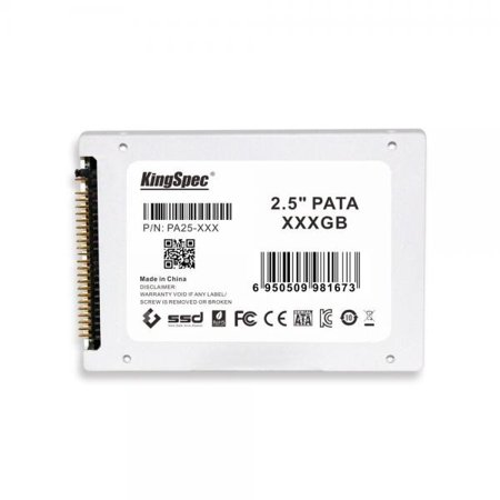 0608729688594 - 64GB KINGSPEC 2.5-INCH PATA/IDE SSD SOLID STATE DISK (MLC FLASH) SM2236 CONTROLLER