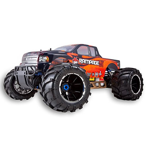 0609132450334 - REDCAT RACING RAMPAGE MT V3 GAS TRUCK (1/5 SCALE), ORANGE/FLAME