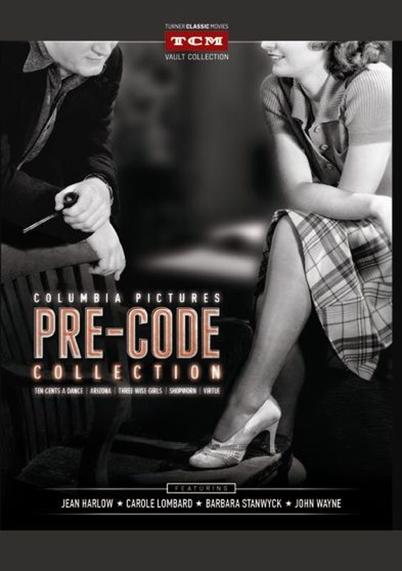 0609224114700 - COLUMBIA PICTURES PRE-CODE COLLECTION (ARIZONA / TEN CENTS A DANCE / VIRTUE / THREE WISE GIRLS / SHOPWORN)