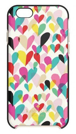 0610214643506 - KATE SPADE NEW YORK - HYBRID HARDSHELL CASE FOR IPHONE 6 PLUS/6S PLUS - CONFETTI HEART (RAINBOW)