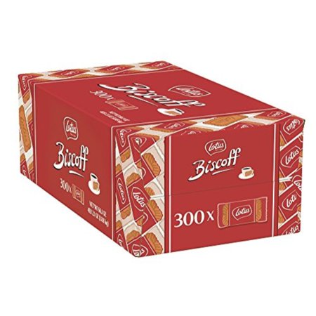 0610366407315 - LOTUS BISCOFF - EUROPEAN BISCUIT COOKIES - 0.2 OUNCE (300 COUNT) - INDIVIDUALLY WRAPPED - NON GMO PROJECT VERIFIED + VEGAN
