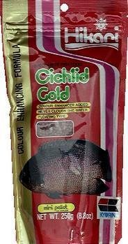 0611101784678 - CICHLID GOLD 8.8OZ - MINI PELLET
