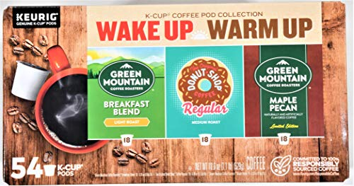 0611247385937 - KEURIG GREEN MOUNTAIN WAKE UP VARIETY PACK COFFEE NET WT 18.6 OZ,, ()